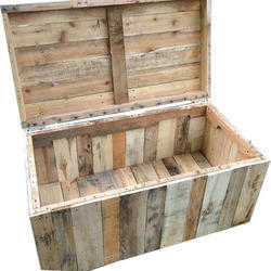 Pinewood Export Pallet Box For Industrial Use