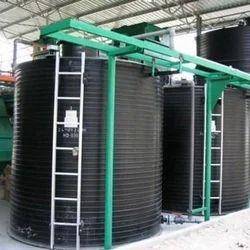 Spiral Vertical HDPE Storage Tank