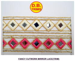 Mirror Cutwork Lace