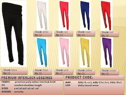 Plain PC Coloured Leggings