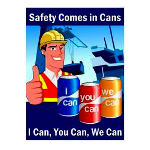 Safety Poster - Construction Safety Posters Retailer from New Delhi