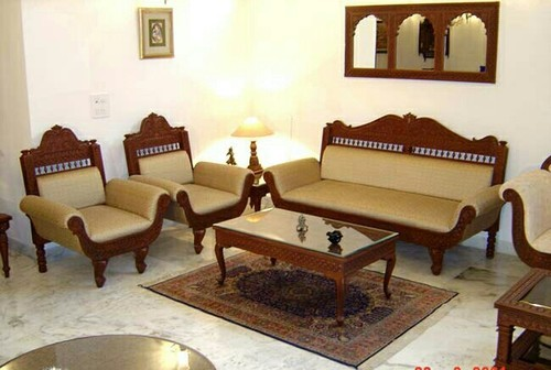 5 Seater Carved Wooden Sofa Set At Rs 180000 Set Sofa Set