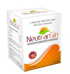 Infertility IVF Product NeutrarGin Sachet