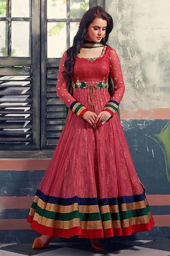 60774543113 Designer Anarkali Suit