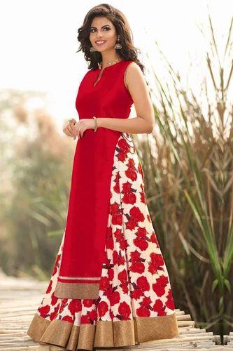 c4558b7208 Bhagalpuri Red Fancy Lehngha Choli, Rs 599 /piece, Style Amaze | ID ...