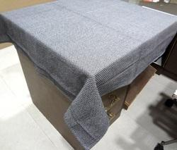 Organic Grey Solid Table Cloth