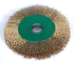 Round Brass Wire Brush