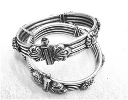 Silver Plated Bracelet Silver Antique Jewellery, For Gift