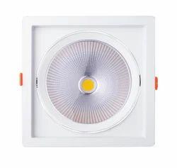 Midas 'Trans' LED COB Spotlight-30W- Adjustable Square Shape