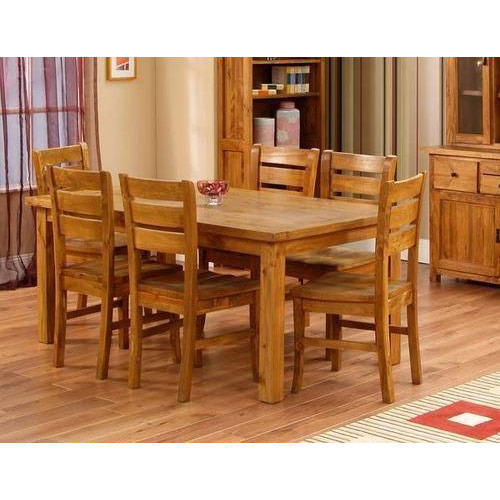 Teak wood dining table at rs piece dharskar road