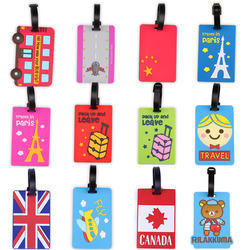 Customised Soft PVC Luggage Tag