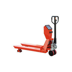 Hydraulic Hand Pallet Truck with Weighing Scale