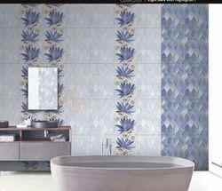 Gloss Porcelain Tiles, Thickness: 6 - 8 mm, Size: Medium