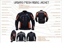Mesh riding jacket