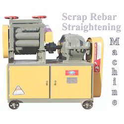 Scrap Rebar Straightening Machine