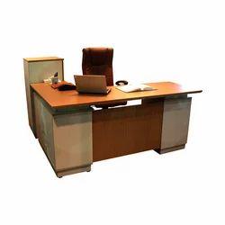 Wooden Rectangular Modular Office Table, Warranty: 1 Year