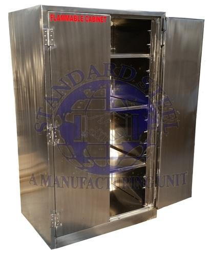 Mortuary Flammable Cabinet at Rs 25000 /piece | Anatomy Equipment ...