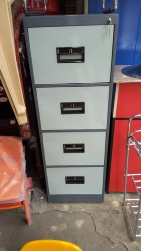 Batcha Furnitures Aluminum Filling Cabinet for Office, No. Of Drawers: 4 Drawers