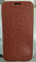 Samsung Galaxy E7 Flip Cover Brown Colour
