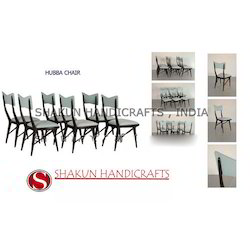 Shakun Handicrafts Dining Room Hubba Chair, For Home