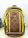 Brown, Yellow Hsne College Bags