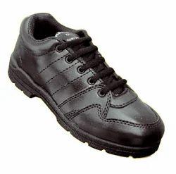 PVC Black Lace Gola School Shoes