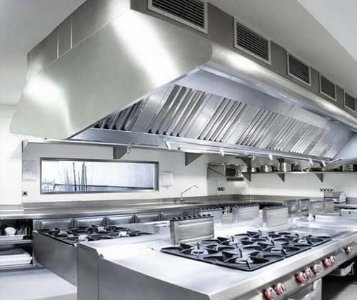 Phenomenal Kitchen Hood Commercial Beutiful Home Inspiration Aditmahrainfo