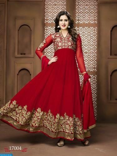 Ladies Bridal Suit at Rs 1695 /piece | Bridal Salwar Kameez | ID ...
