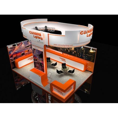 Service Provider Of Exhibition Stalls Designing Fabrication 3D