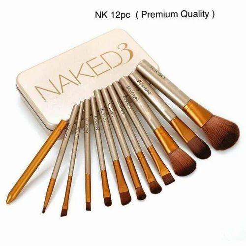 12 Piece Makeup Brush Set Usage