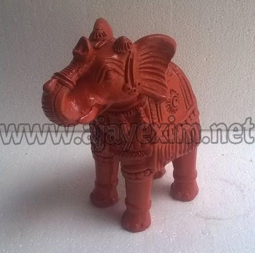 Clay Indian Elephant Statue At Rs 600 Unit Elephant Statue Id