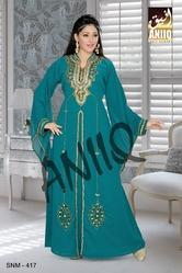 Saudi Arabian Party Wear Evening Gown 417