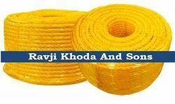 Ravji Khoda And Sons Yellow Fishing and Shipping Rope