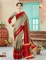 Silk Plain Dack Saree