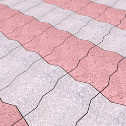 Interlocking Floor Paver Block