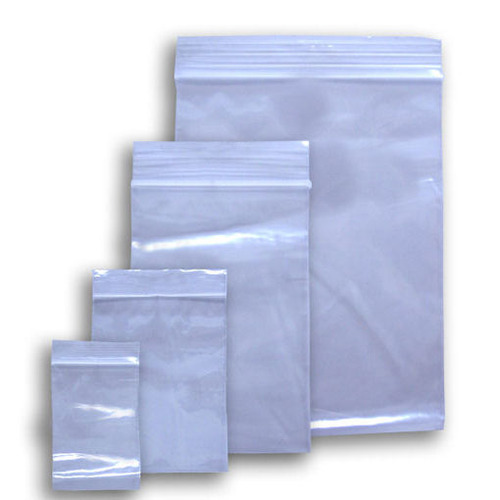 Zip Lock Plastic Bag, Size: 3 - 50 Inches