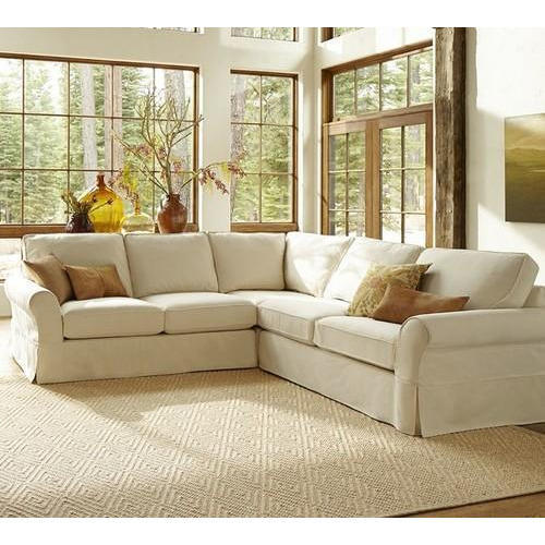 Modern L Shaped Sofa, L shape couch, एल शेप सोफा सेट ...