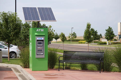 Solar Powered Atm Machine View Specifications Amp Details