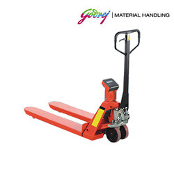 Godrej Hand Pallet Truck with Weighing Scale