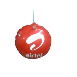 Uv Printing Red Balloon Advertising Dangler, For Outdoor Promotion, Packaging Type: Box