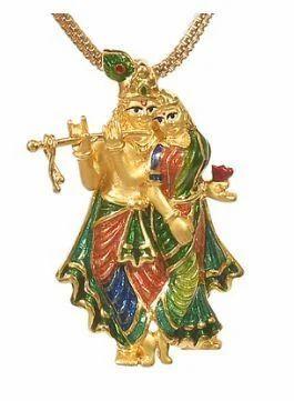 Radha krishna pendants at rs 46877 unit shivranjani cross road radha krishna pendants aloadofball Gallery