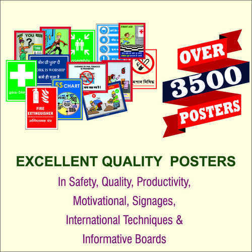 Excellent Quality Safety Posters Safety Poster Kaizen India