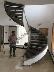 Concrete Spiral Stair Case