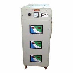 Automatic 98% 3 Phase Servo Stabilizer, With Surge Protection, 295V-470V
