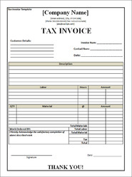 Invoice Printing Service Invoice Printing In India - Sample invoice template for services rendered supreme online store