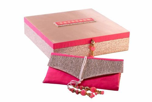 Designer Wedding Card Box at Rs 650 pieces Wedding Favor Boxes