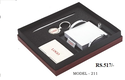 Pen & Visiting Card Holder Gift Set