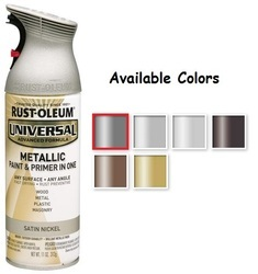 Rust Oleum Universal Metallic Spray Paint
