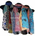 Indian Traditional Kantha Scarves