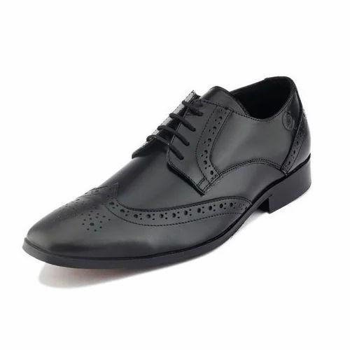 Gekko Men Black Oxford Formal Shoes at
